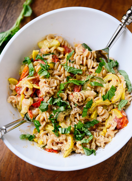 Summer Squash Noodles Recipes  Cherry Tomato & Summer Squash Pasta Cookie and Kate