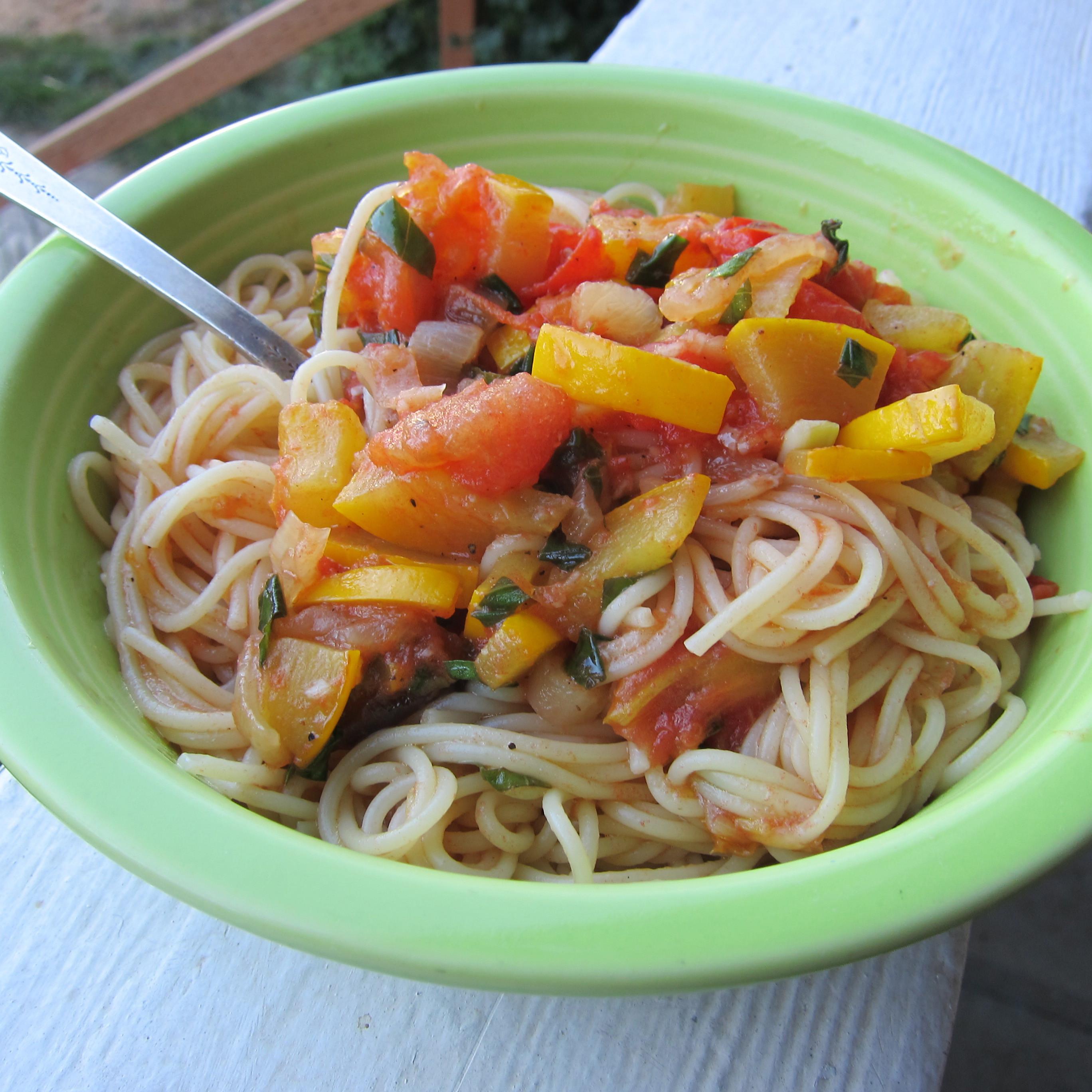 Summer Squash Noodles Recipes  Summer Squash and Tomato Pasta Recipe