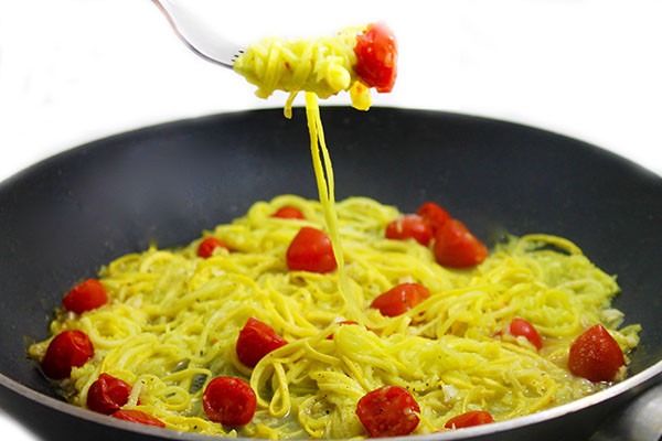 Summer Squash Noodles Recipes  Summer Squash Noodles with Skinny Garlic Butter with