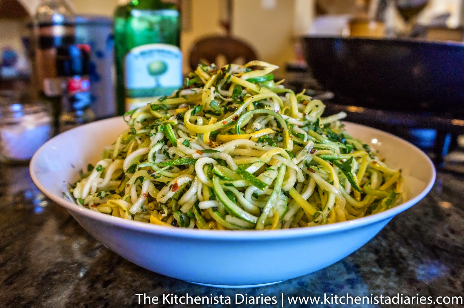 Summer Squash Noodles Recipes  Zucchini & Summer Squash Noodles with Garlic and Mint