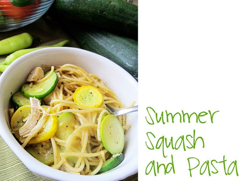 Summer Squash Noodles  Lovely Little Snippets Summer Squash Pasta