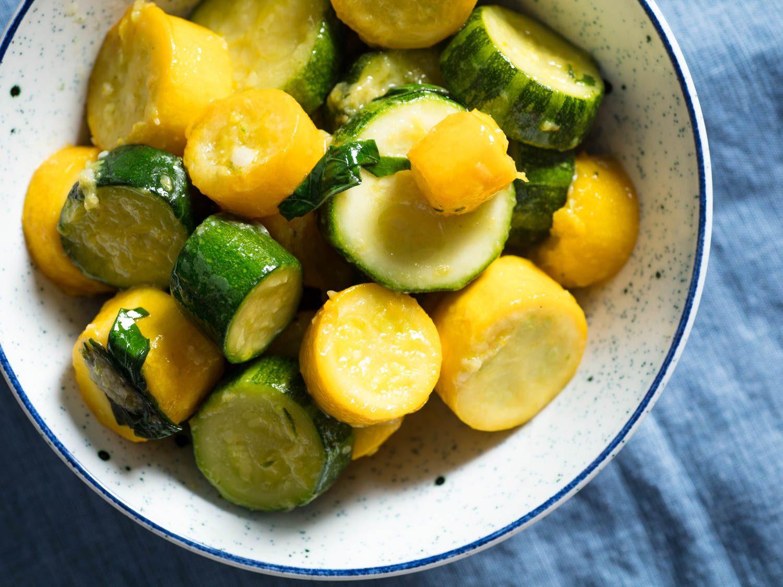Summer Squash Recipe  Stewed Summer Squash Recipe