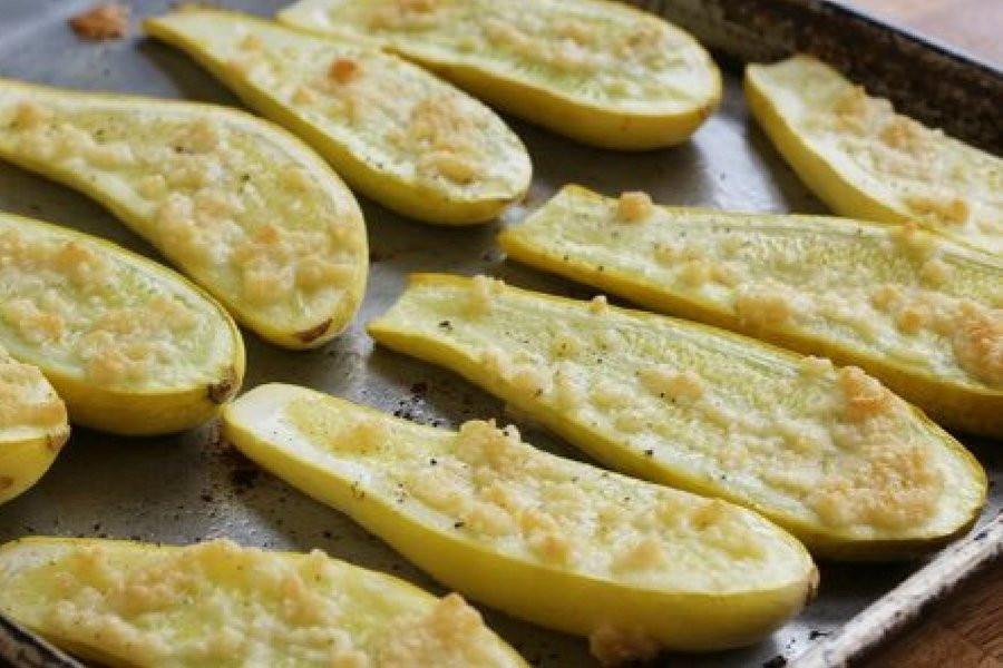 Summer Squash Recipes  Roasted Parmesan Summer Squash Slender Kitchen