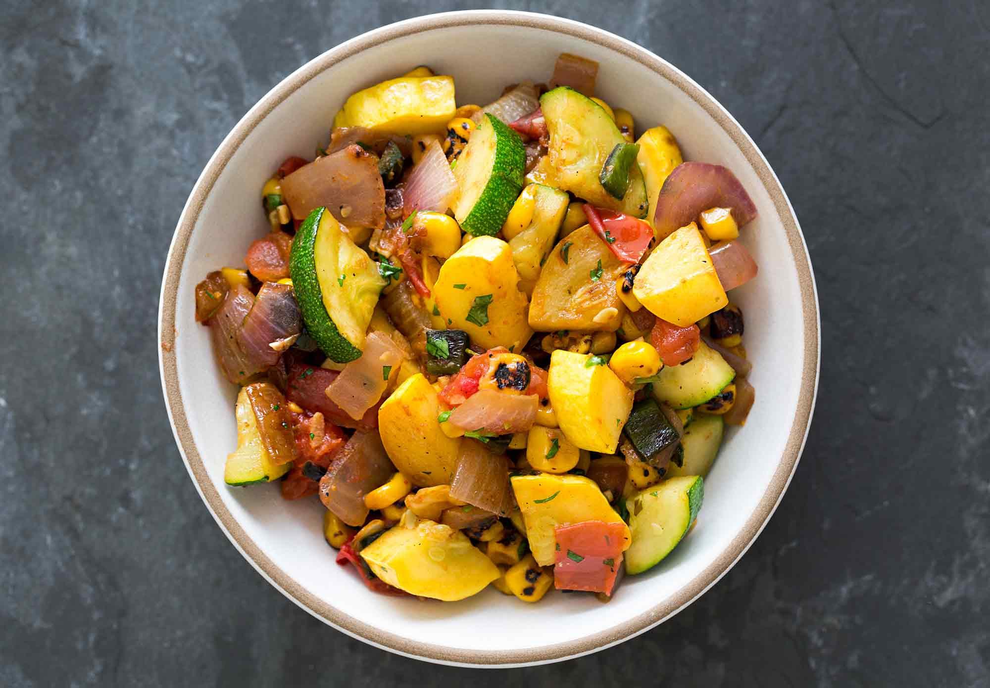 Summer Squash Recipes  Summer Squash Green Chile Stir Fry Recipe