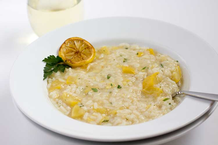 Summer Squash Risotto  Pressure Cooker Lemon Risotto with Summer Squash