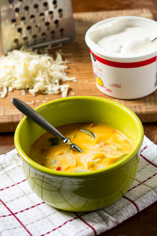 Summer Squash Soup  Summer Squash Soup with Cheese Chattavore