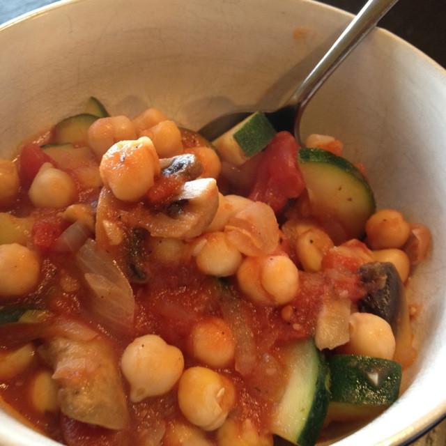 Summer Stew Recipe  Recipe Chick Pea and Zucchini Summer Stew