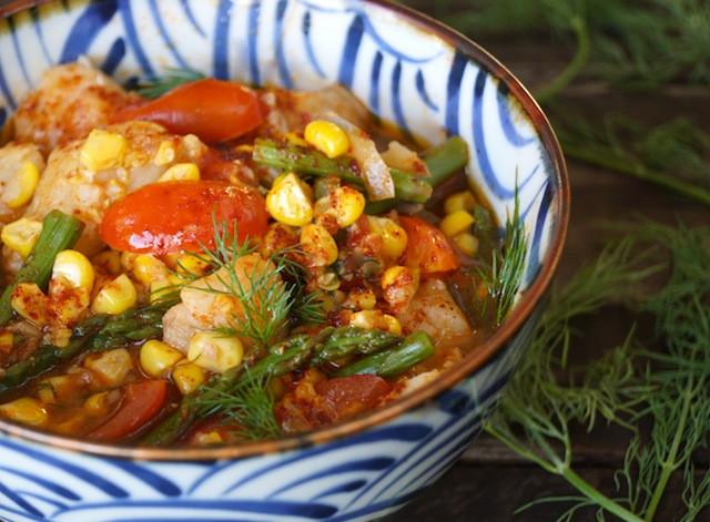 Summer Stew Recipe  Light Spring & Summer Fish Stew Recipe