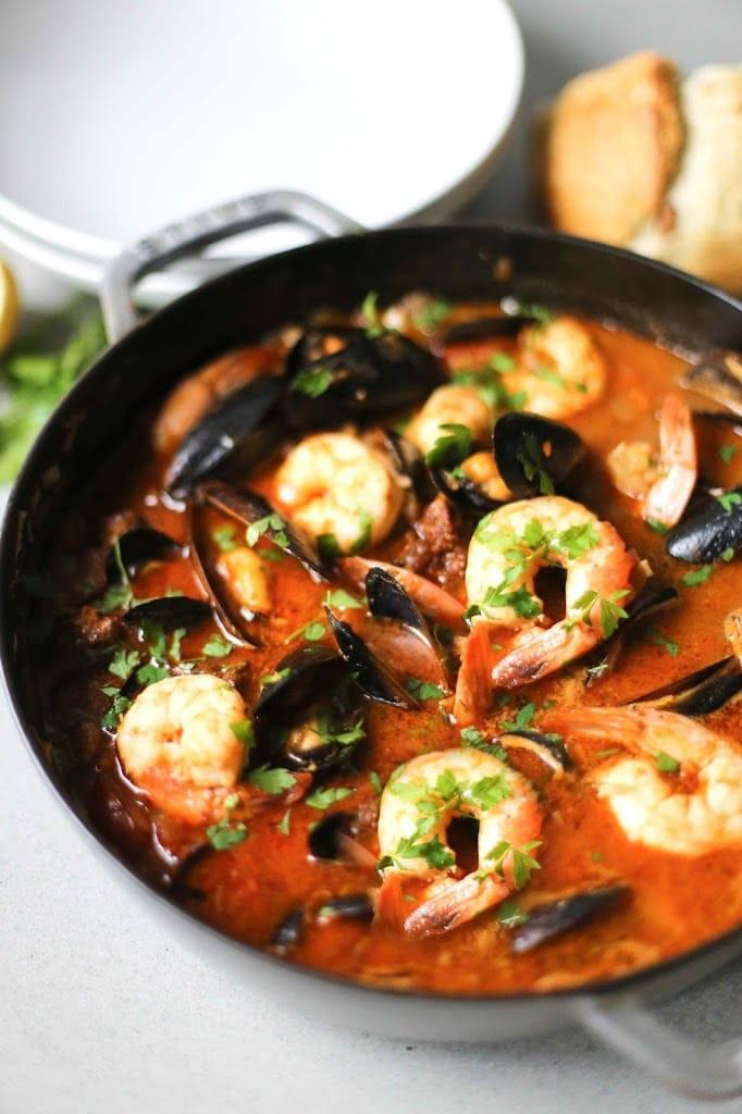 Summer Stew Recipe  Summer Seafood Stew