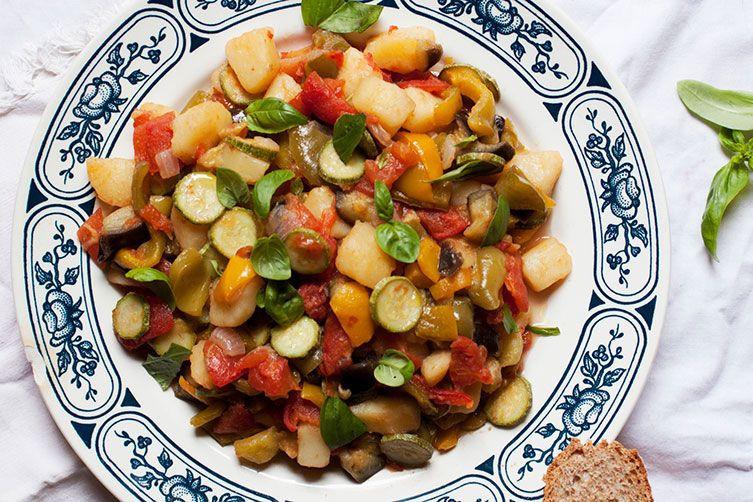 Summer Stew Recipe  Tuscan Summer Ve able Stew Gurguglione di Elba Recipe