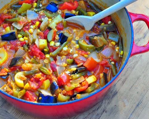 Summer Stew Recipes  Day 35 Summer Ve able Stew ♥ Recipe