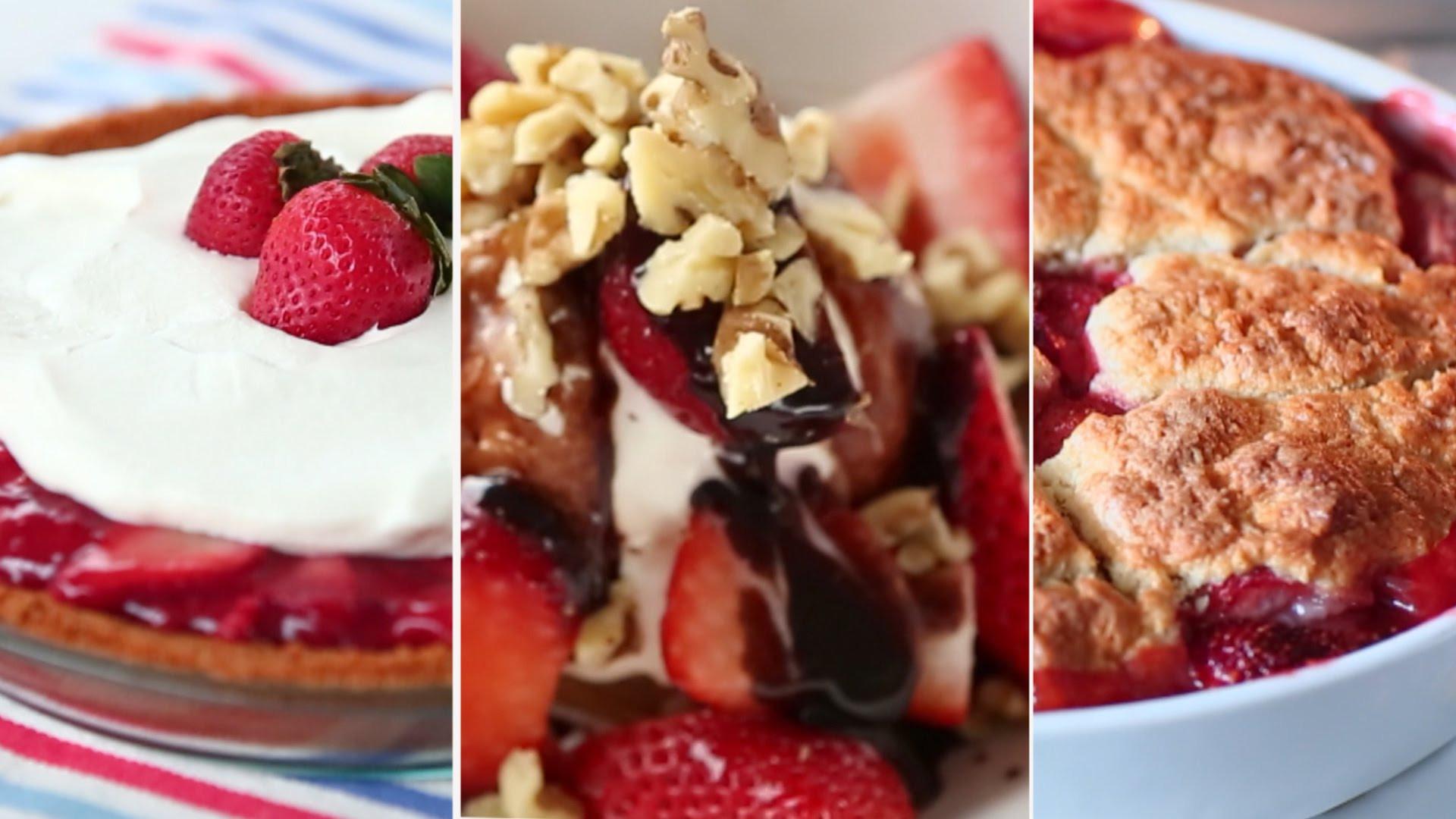 Summer Strawberry Desserts  Summer Strawberry Desserts – Everyday Food with Sarah