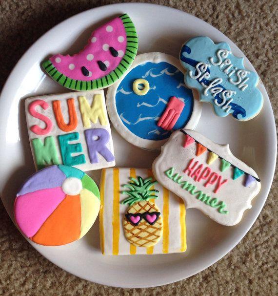 Summer Sugar Cookies  25 best ideas about Summer cookies on Pinterest