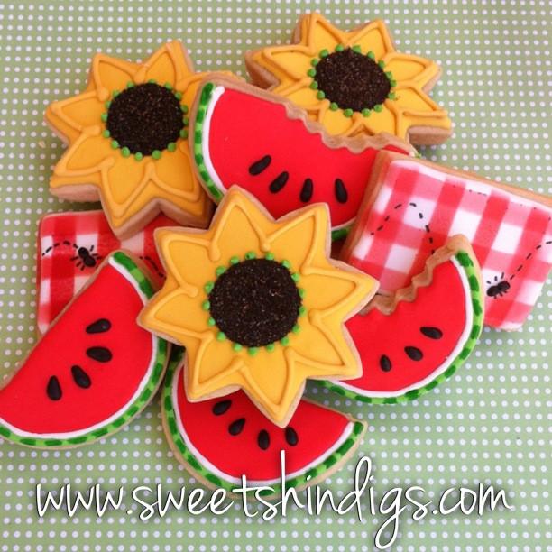 Summer Sugar Cookies  Sweet Shindigs Summer Time Cookies