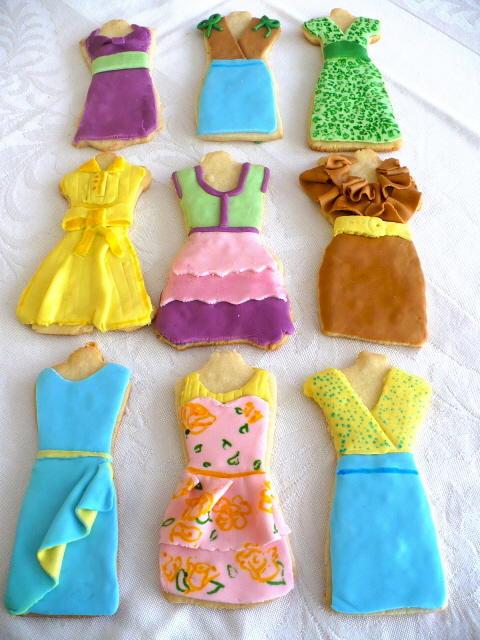 Summer Sugar Cookies  Summer Dress Sugar Cookies
