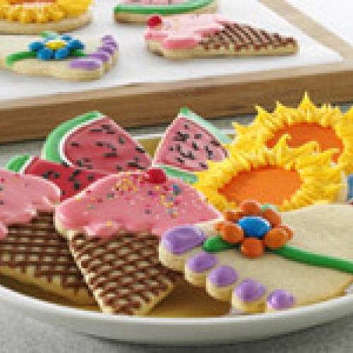 Summer Sugar Cookies  Summer Sugar Cookies