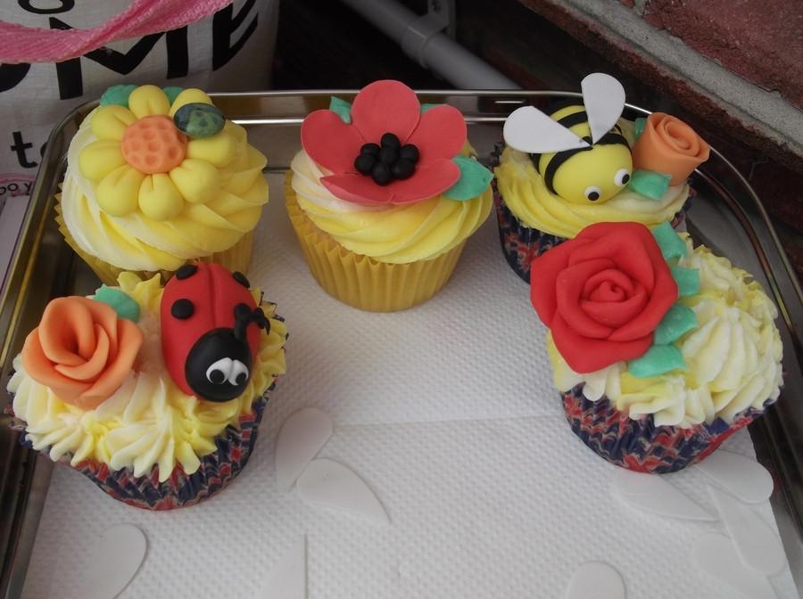 Summer Themed Cupcakes  Summer Themed Cupcakes CakeCentral