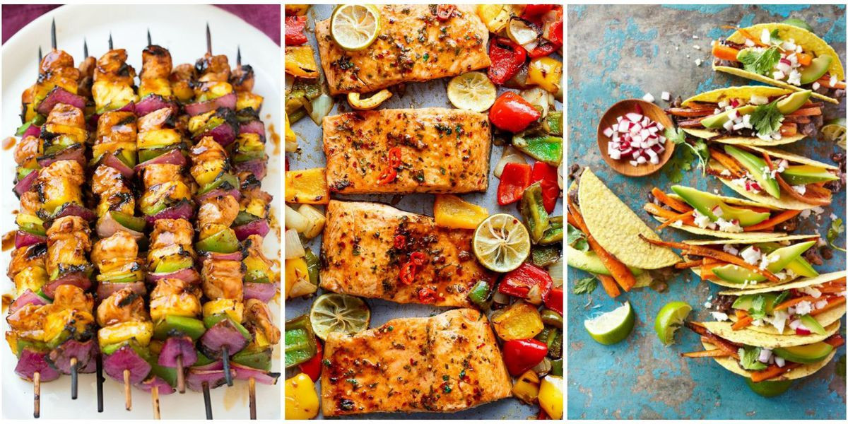 Summer Time Dinners  14 Easy Summer Dinner Ideas Best Recipes for Summer Dinners