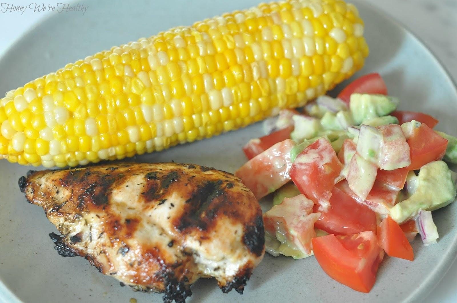 Summer Time Dinners  Quick & Fresh Summer Dinner