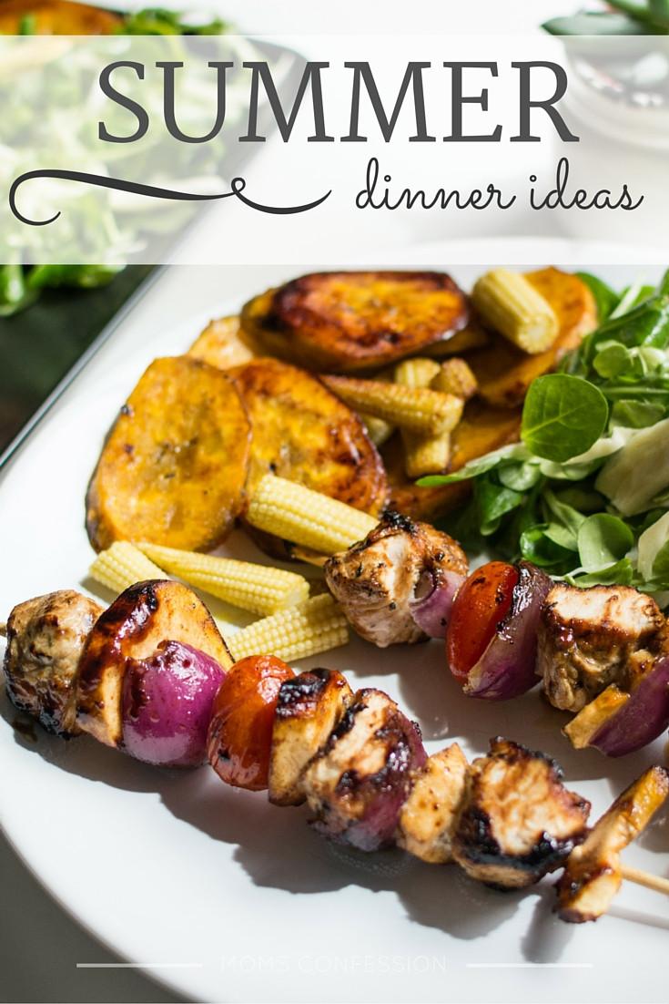 Summer Time Dinners  Summer Dinner Ideas Perfect Summer Meal Ideas