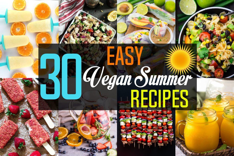 Summer Vegan Recipes  Easy Vegan Summer Recipes Vegan Huggs