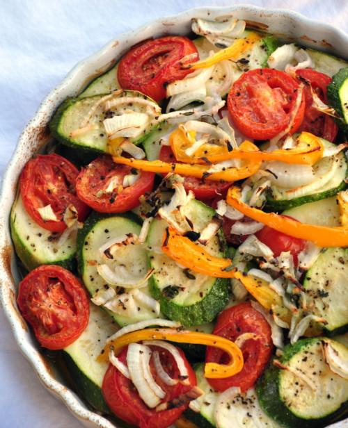 Summer Vegetable Casserole  Summer Ve able Casserole