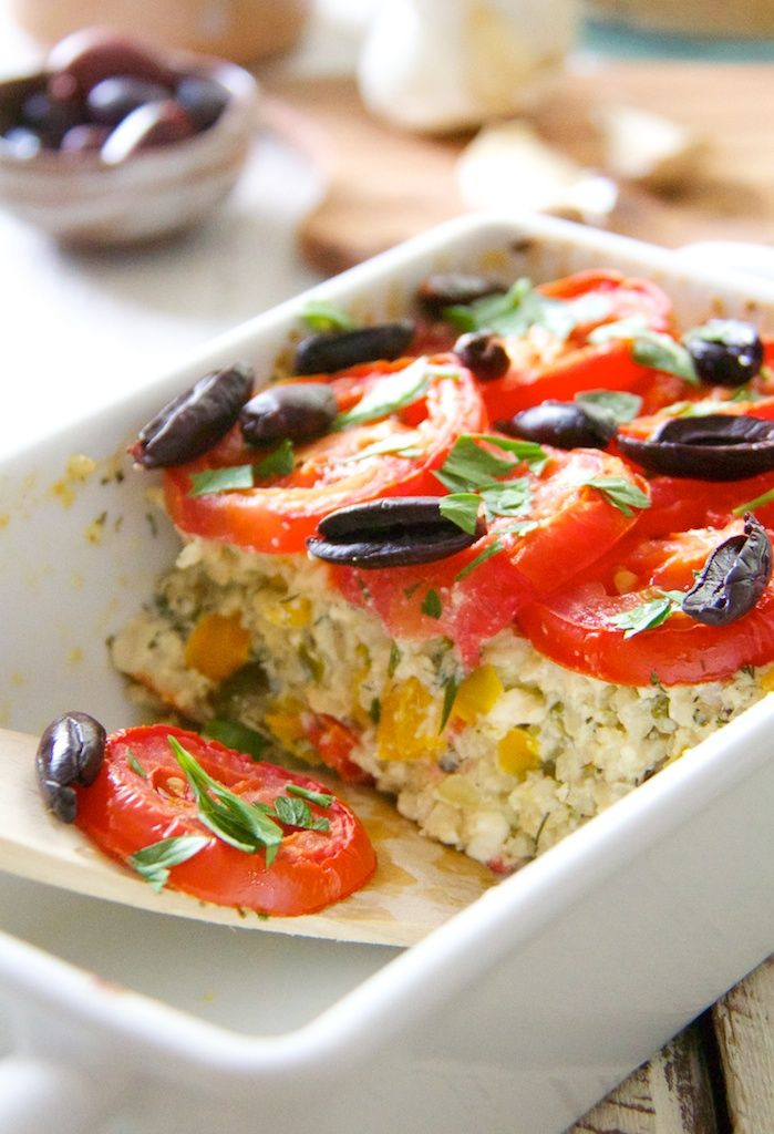 Summer Vegetable Casserole  31 best images about VEGETARISCHE OVENSCHOTELS on Pinterest