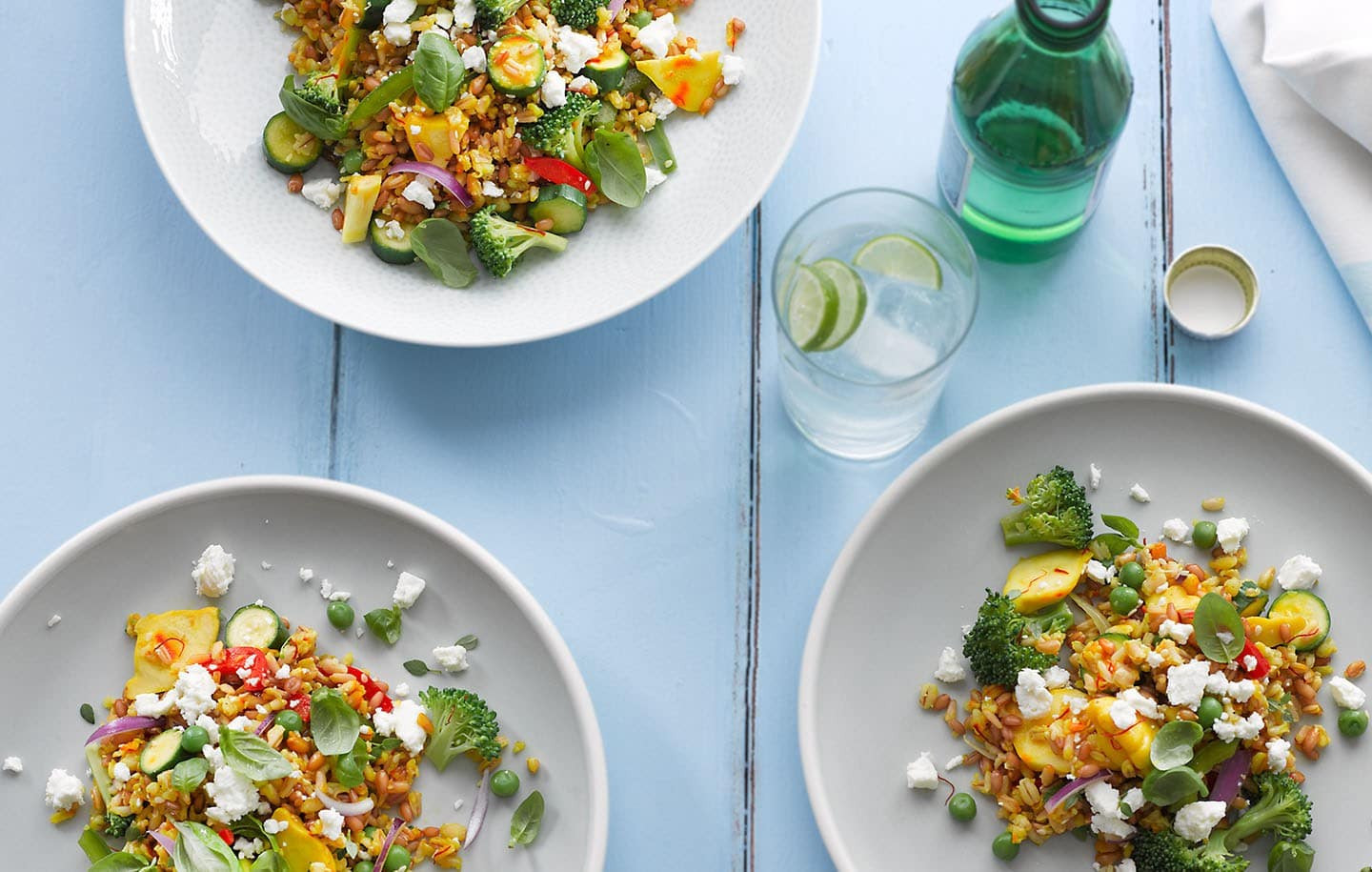 Summer Vegetable Side Dishes  Summer Ve able Pilaf Recipe Side Dishes Recipes