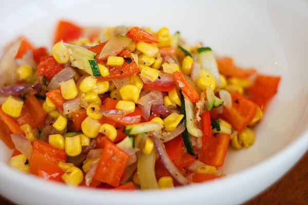Summer Vegetable Side Dishes  Sweet Summer Roasted Ve ables