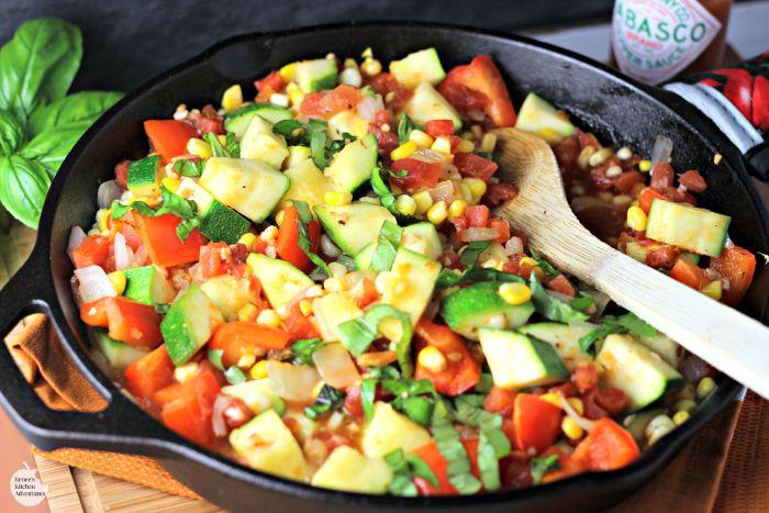 Summer Vegetable Side Dishes  Summer Ve able Saute