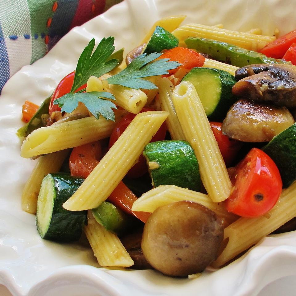 Summer Vegetarian Dinner Recipes  Summer ve able pasta recipe All recipes UK
