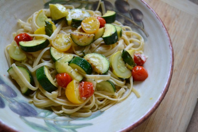 Summer Vegetarian Pasta Recipes  Summer Spaghetti Easy Healthy Ve able Pasta Recipe