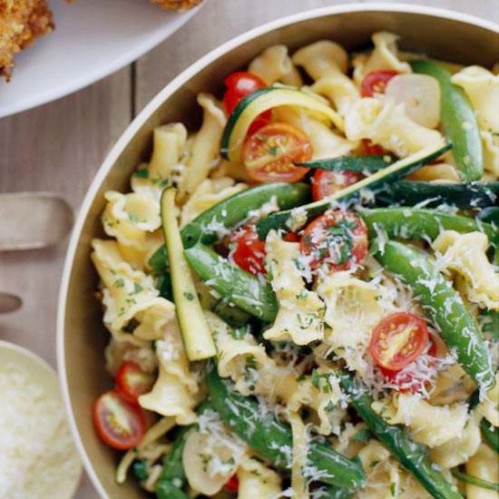 Summer Vegetarian Pasta Recipes  Summer Ve able Pasta Salad