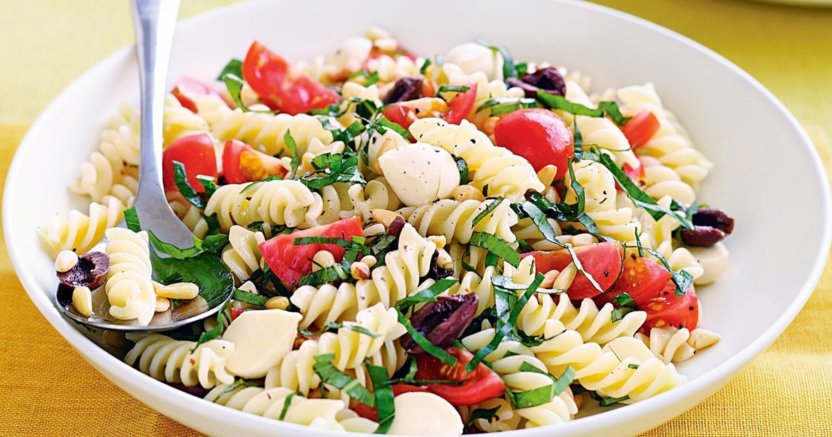 Summer Vegetarian Pasta Recipes  Summer pasta salad