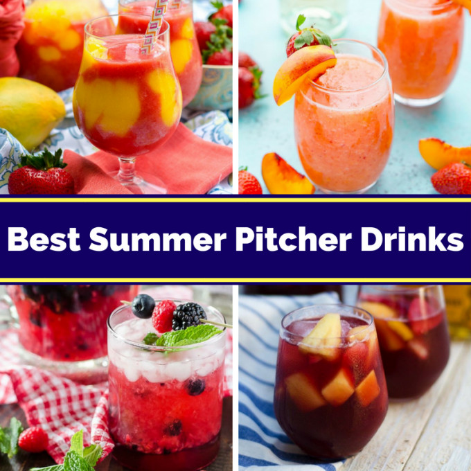 Summer Vodka Drinks For A Crowd  Summer Alcoholic Drinks For A Crowd
