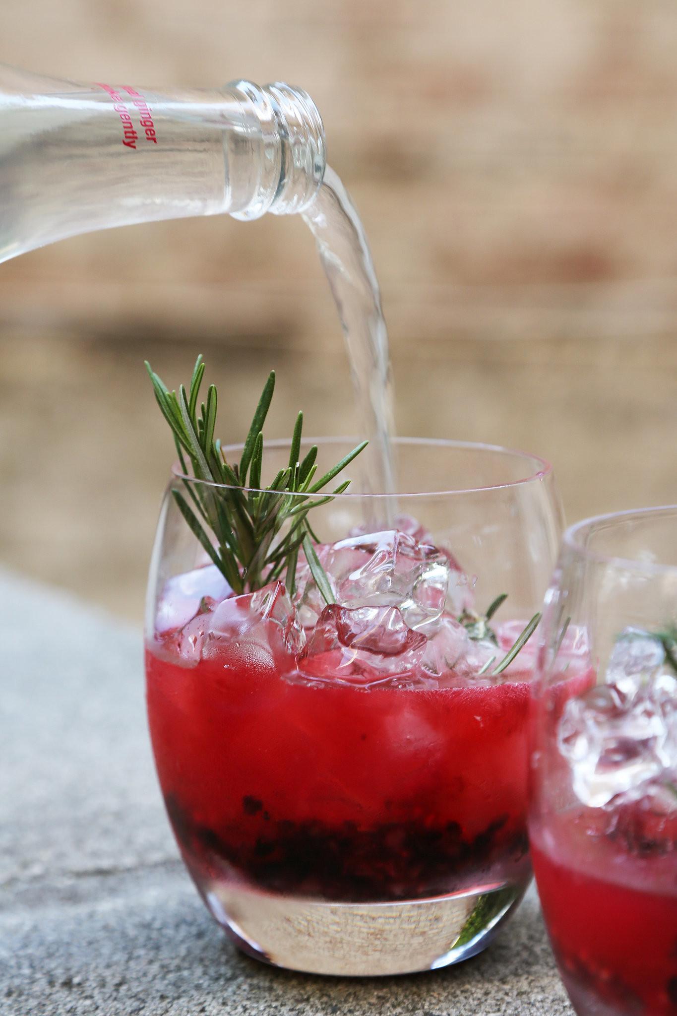 Summer Vodka Drinks Pitcher  Vodka Cocktail Recipe With Fresh Berries