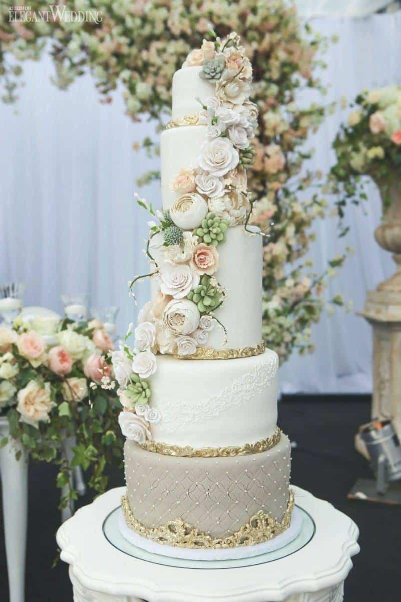 Summer Wedding Cakes  Sweet Summer Cakes