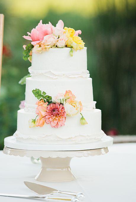 Summer Wedding Cakes  Summer Wedding Cake Ideas