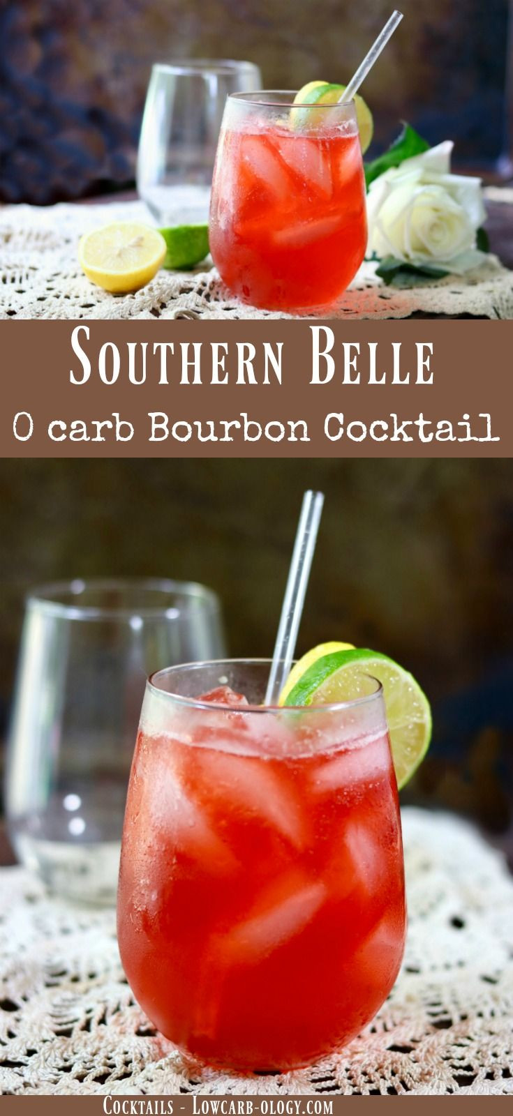 Summer Whiskey Drinks  Summer Bourbon Cocktail The Southern Belle lowcarb ology