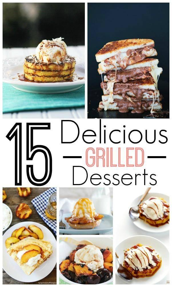 Summertime Bbq Desserts  15 Grilled Dessert Recipes