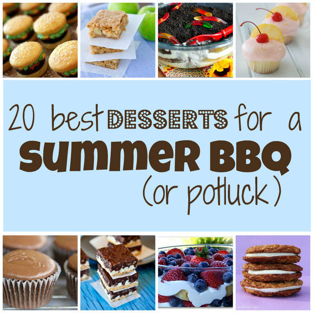 Summertime Bbq Desserts 20 Best 20 Best Desserts for A Summer Bbq or Potluck something