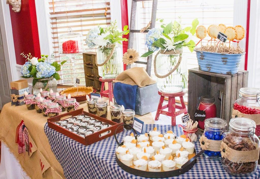 Summertime Bbq Desserts  A Summer Farewell BBQ Dessert Table