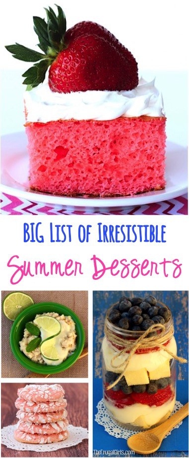 Summertime Desserts For A Crowd  45 Summer Dessert Recipes for a Crowd Insanely Easy