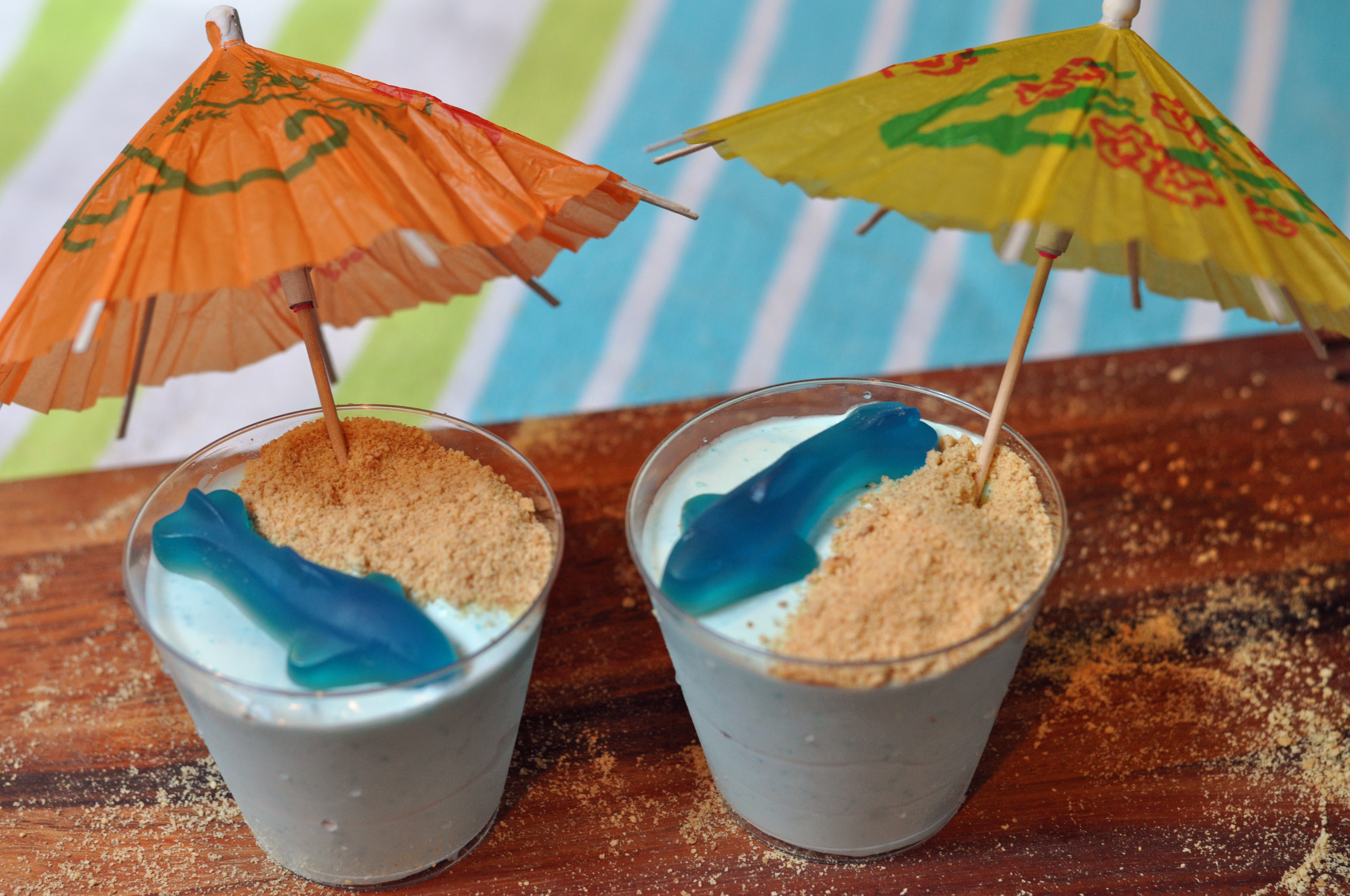 Summertime Desserts For Kids  Fun Shark Inspired Kids Desserts Mommy s Fabulous Finds