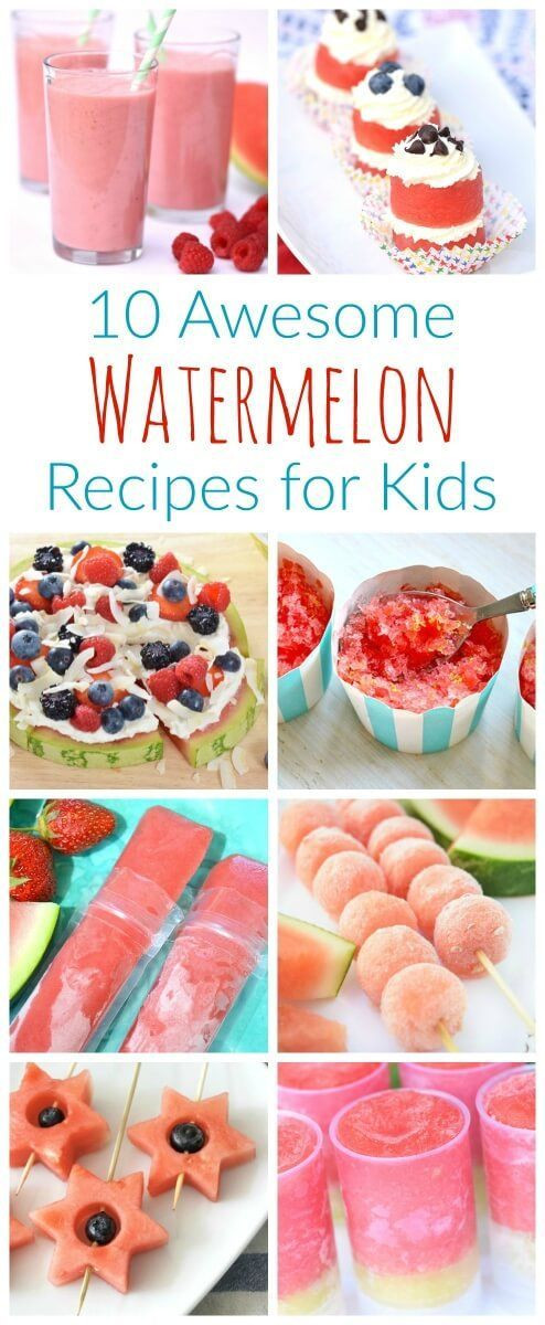 Summertime Desserts For Kids  1000 images about Lunch and Snack Ideas on Pinterest
