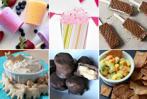 Summertime Desserts For Kids  Super summer treats for kids