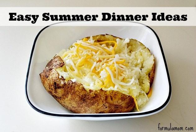 Summertime Dinner Ideas  Easy Summer Dinner Ideas EverydayDairy