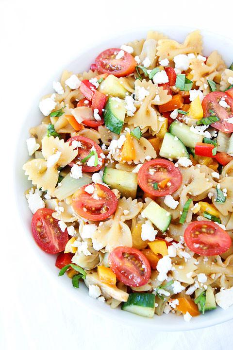 Summertime Pasta Salad  easy pasta salad