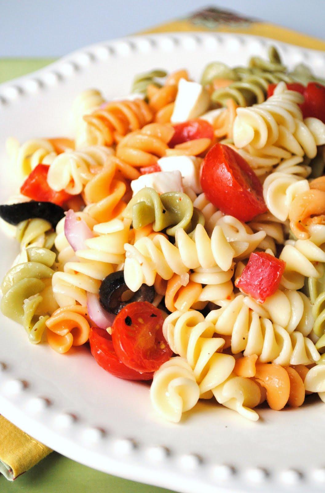 Summertime Pasta Salad  Recipe of the Week Summer Pasta Salad