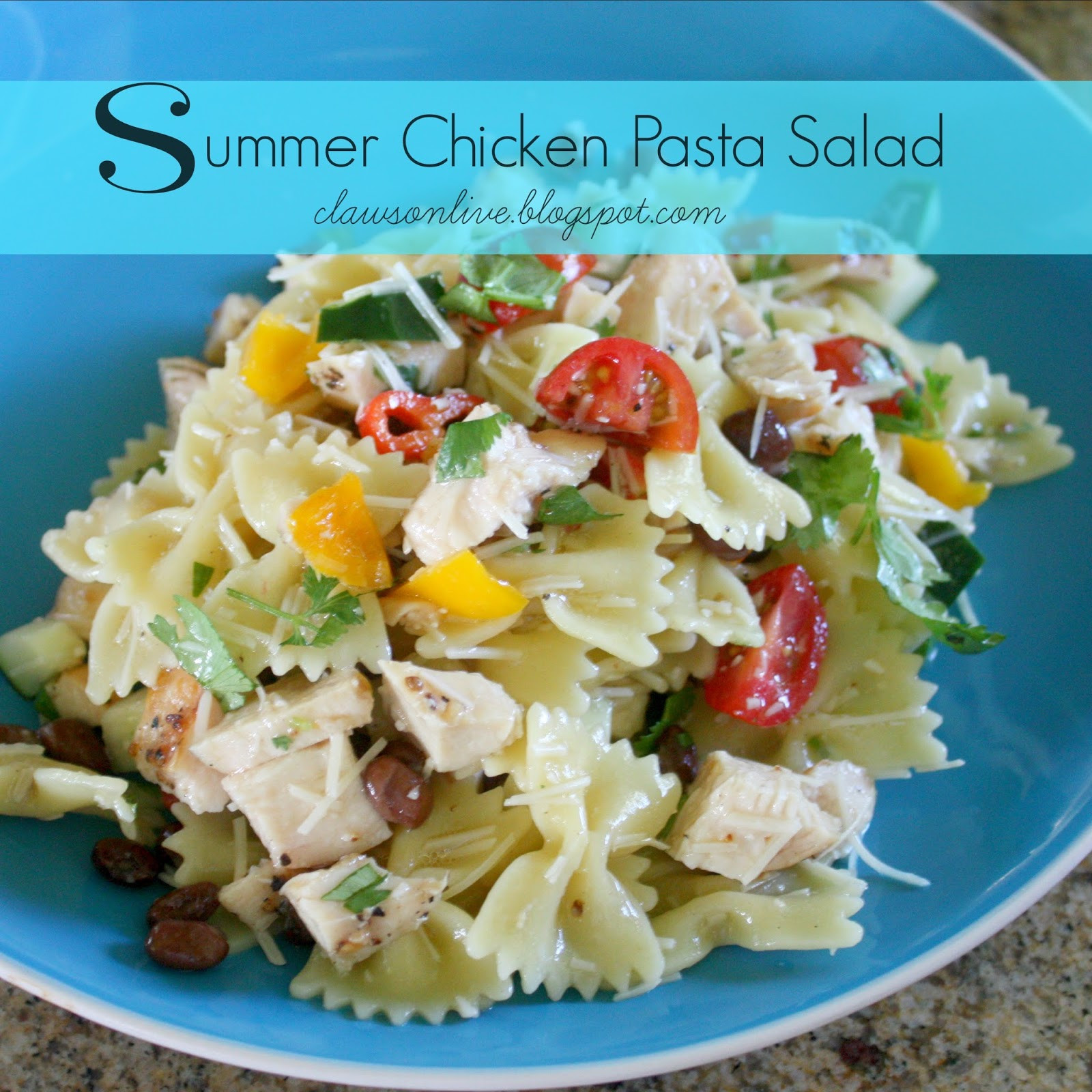 Summertime Pasta Salad  Summer Pasta Salad